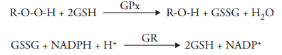 Glutathione Peroxidase reaction